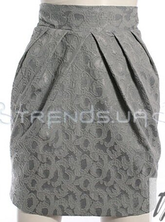 Юбка-тюльпан.  Моделирование.  ВАЖНО: При моделировании используйте проверенный вами чертеж прямой юбки.