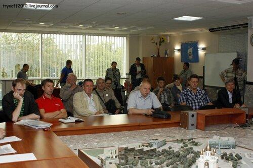 """Местом встречи являлся конференц-зал Бизнес-центра  """"Калининградский Пассаж """".  В 10.00 в конференц-зале было..."""