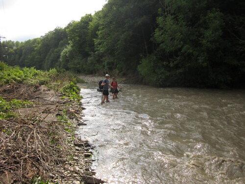 Переход через реку