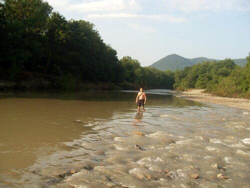 Через реку