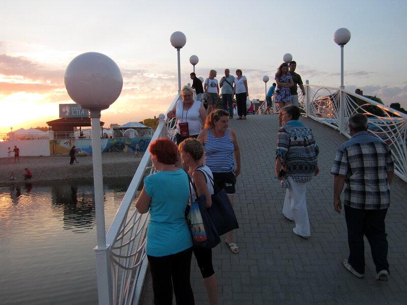 Мост в Дивноморске