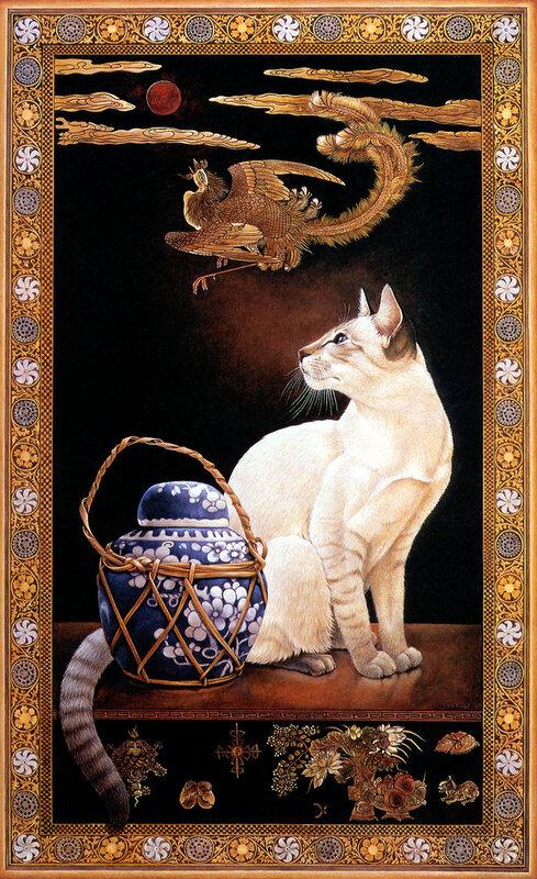 Леонардо да Винчи-Лист с котами.
