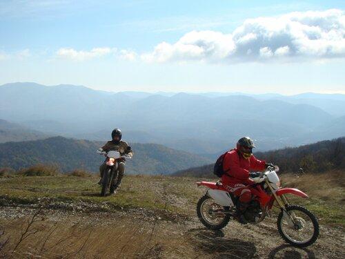 Прокат мотоциклов эндуро. Внедорожный туризм.
