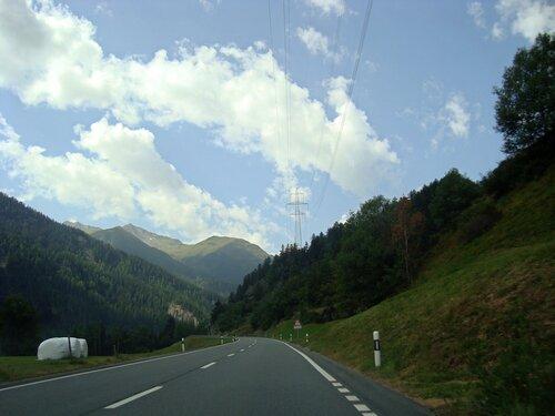 По дороге на Санкт-Мориц