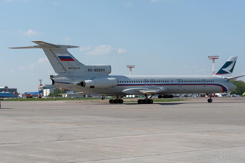 Туполев Ту-154Б-2 (RA-85554) ВВС России DSC_0178