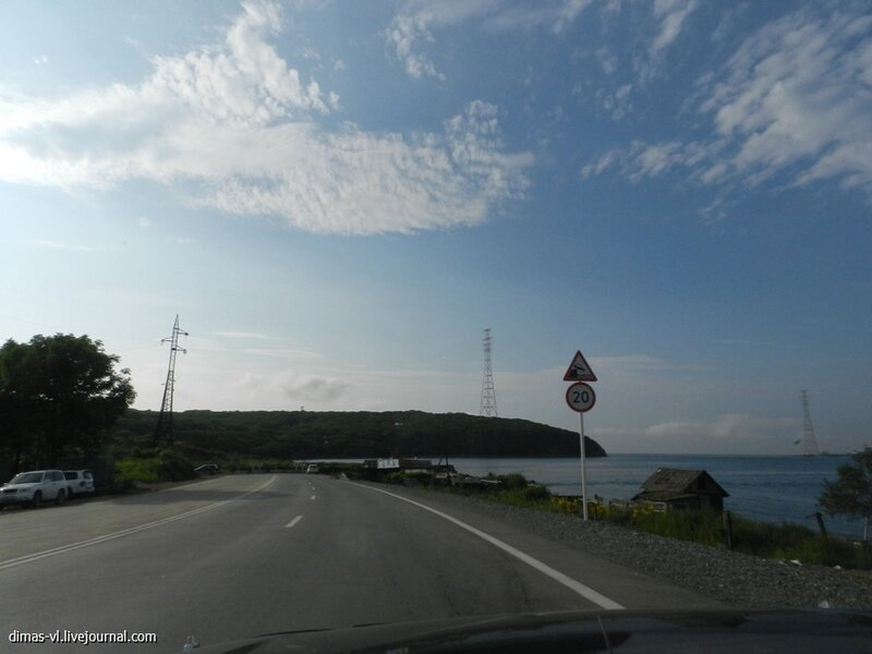 Остров Русский перед АТЭС. Конец августа 2012г