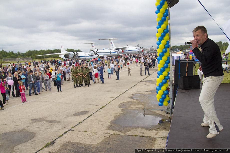 100 лет ВВС России. Праздник на аэродроме в Мигалово Тверь 2012