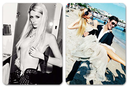 Paris Hilton / Пэрис Хилтон, фотограф Ellen von Unwerth в журнале GQ Россия, сентябрь 2012