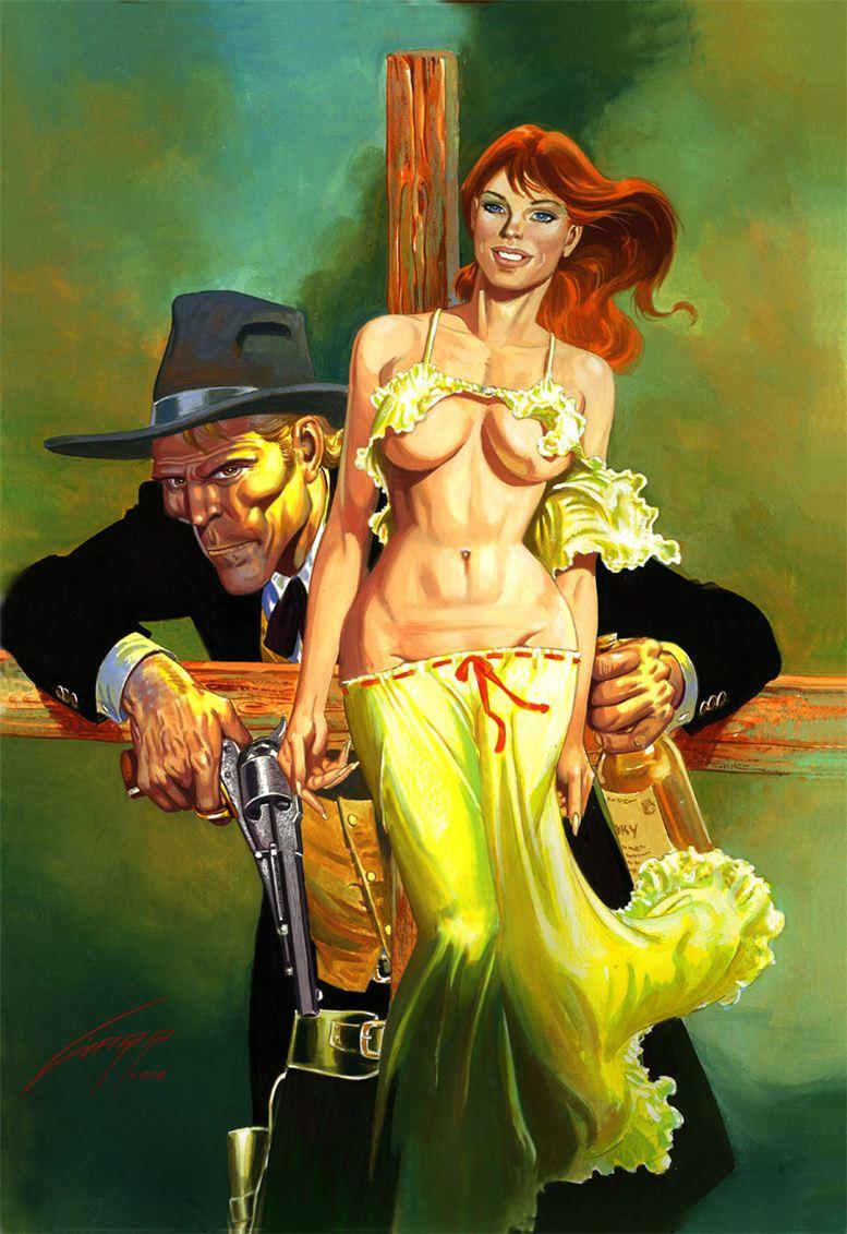 Горячие женщины - Рисунки художника Рафаэля Галлура / Rafael Gallur pictures - Obsession