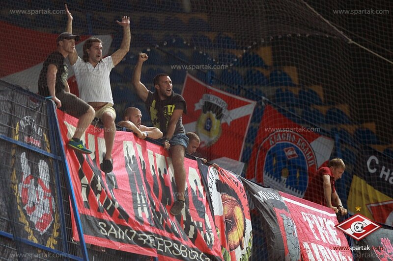 «Фенербахче» vs «Спартак» 1:1 Лига чемпионов 2012-2013 (Фото)