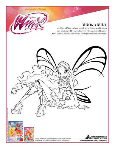 Раскраски винкс которые сама делала +игра макияж Дакоту Фэннинг!