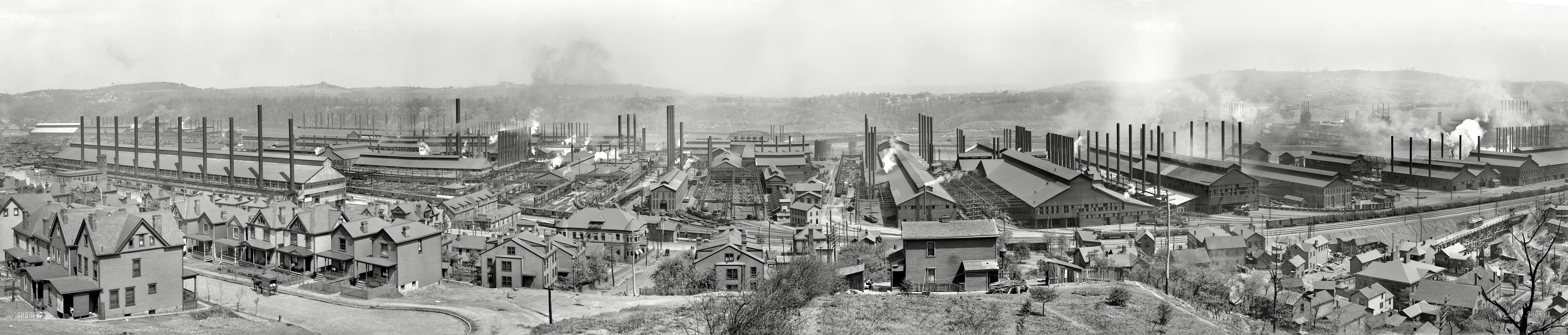 a look at the steel mill immigrants of industrial america Part museum — and look inside the guts of the old steel mill  among old industrial cities doing well: immigrants  this is america' has started a.