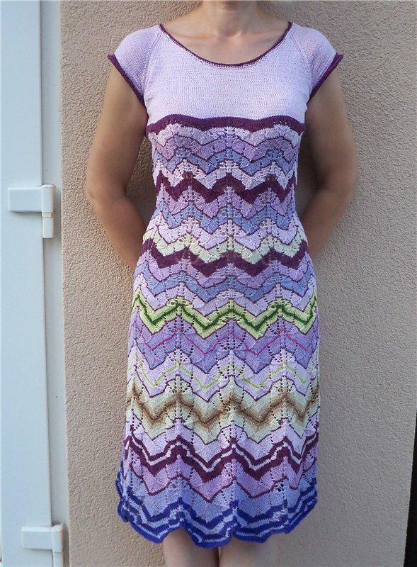 漂亮的针织裙 - maomao - 我随心动