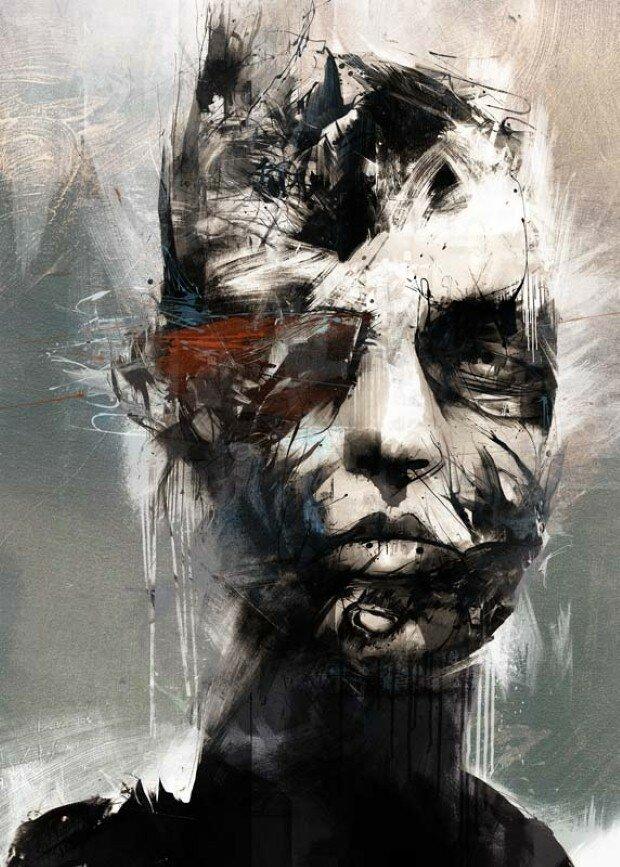 Эмоциональные рисунки. Russ Mills 25
