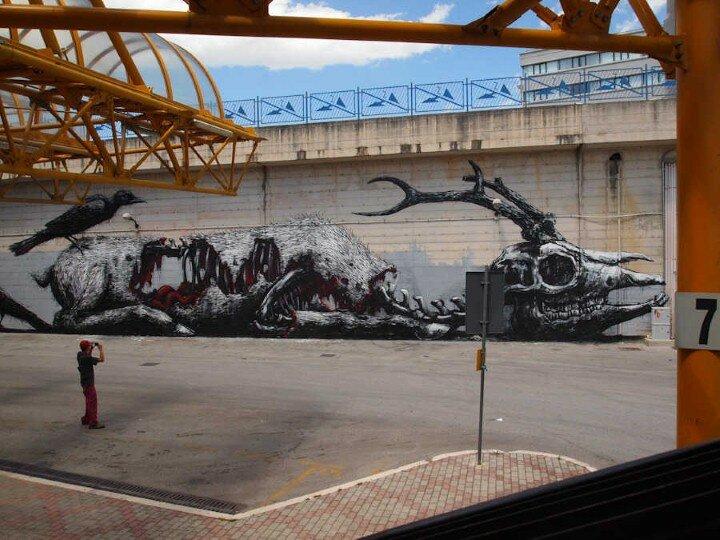 ROA. Уличный художник 6