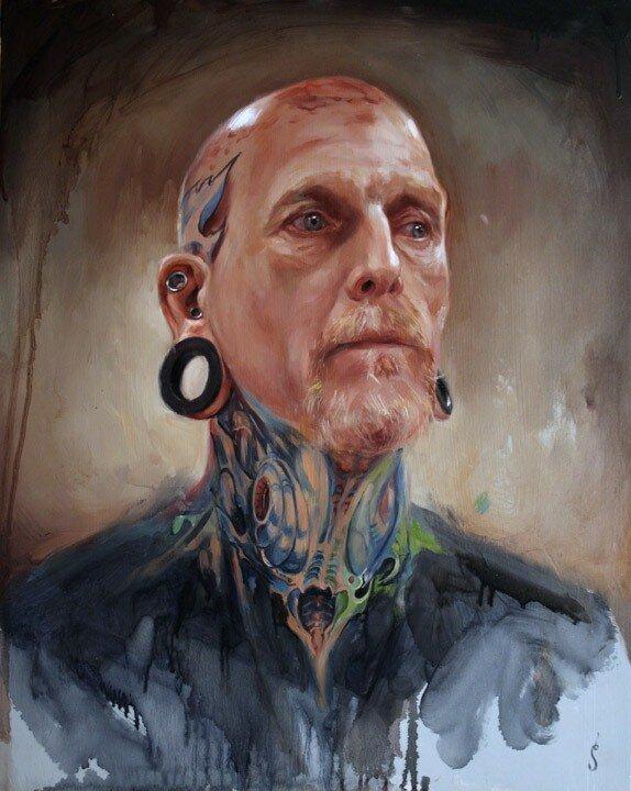 Shawn Barber. Татуированные картины 11