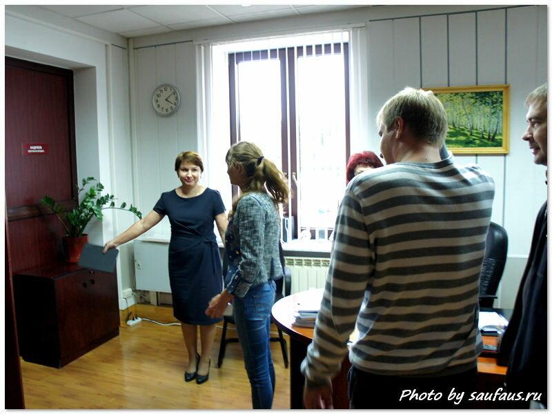 Блогеры в мэрии