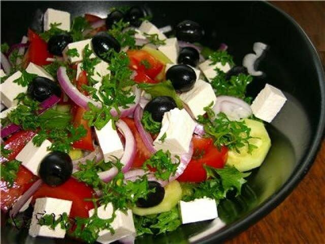 Варианты греческого салата с фото