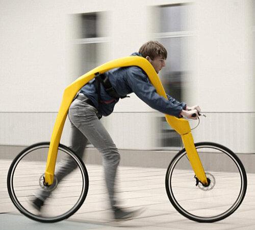 велосипед без педалей и седла