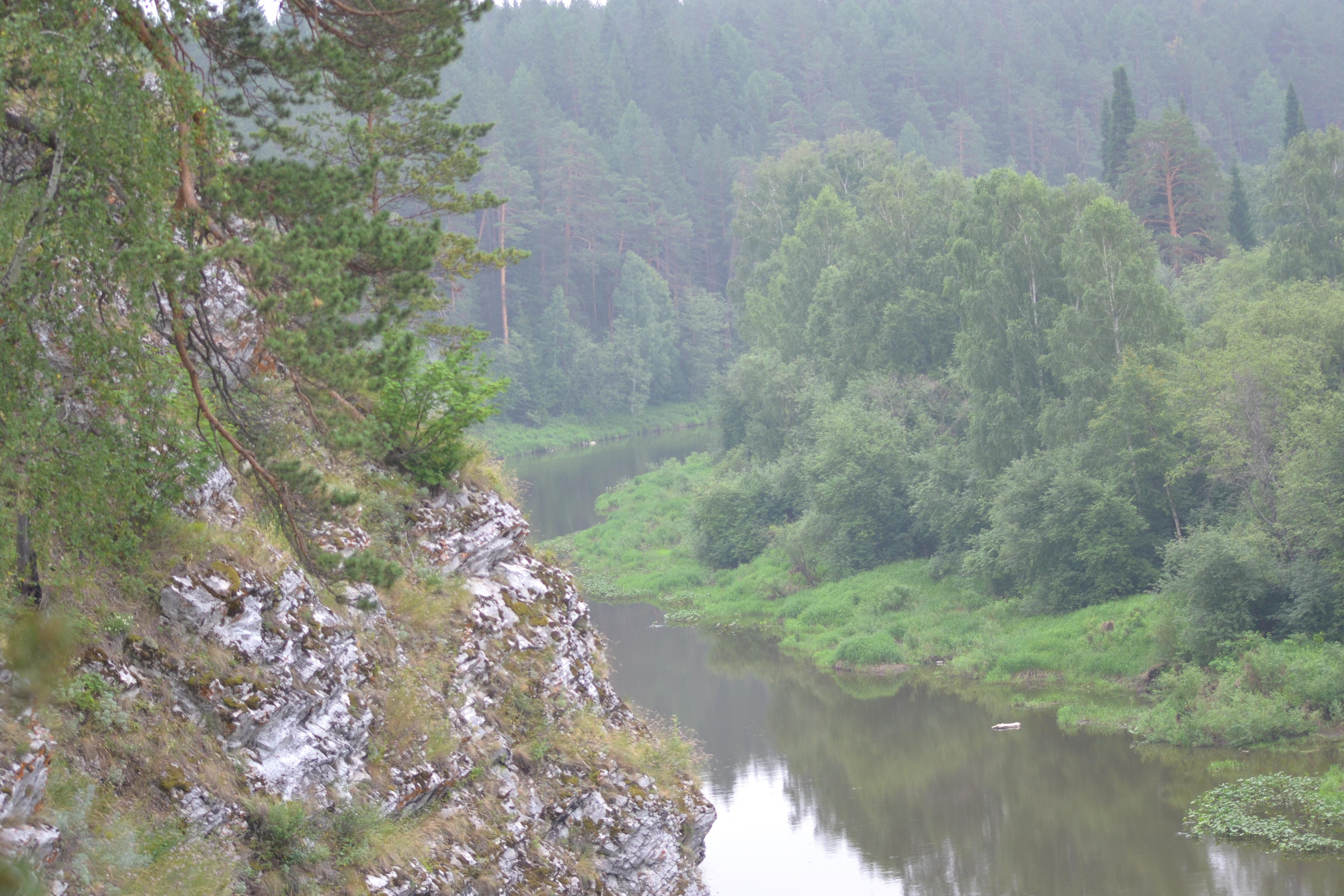 Георгиевский камень— скала над Чусовой (08.07.2015)