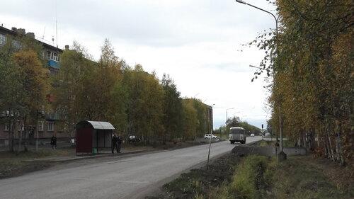 Фото города Инта №1260  Улица Куратова в сторону поселка