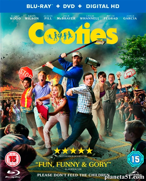 Кутис / Cooties (2015/BDRip/HDRip)