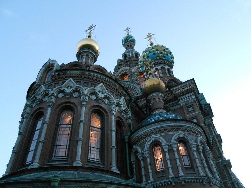 Петербург. Храм Спаса-на-Крови. Вечер 25 июля 2015