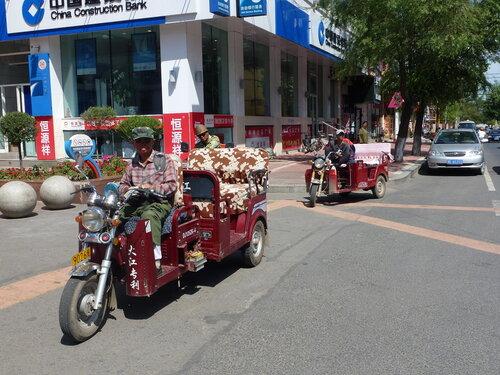 моторикша в Хэйхэ