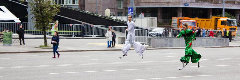 Московский местный карнавал, проспект академика Сахарова, 01 сентября 2012 года