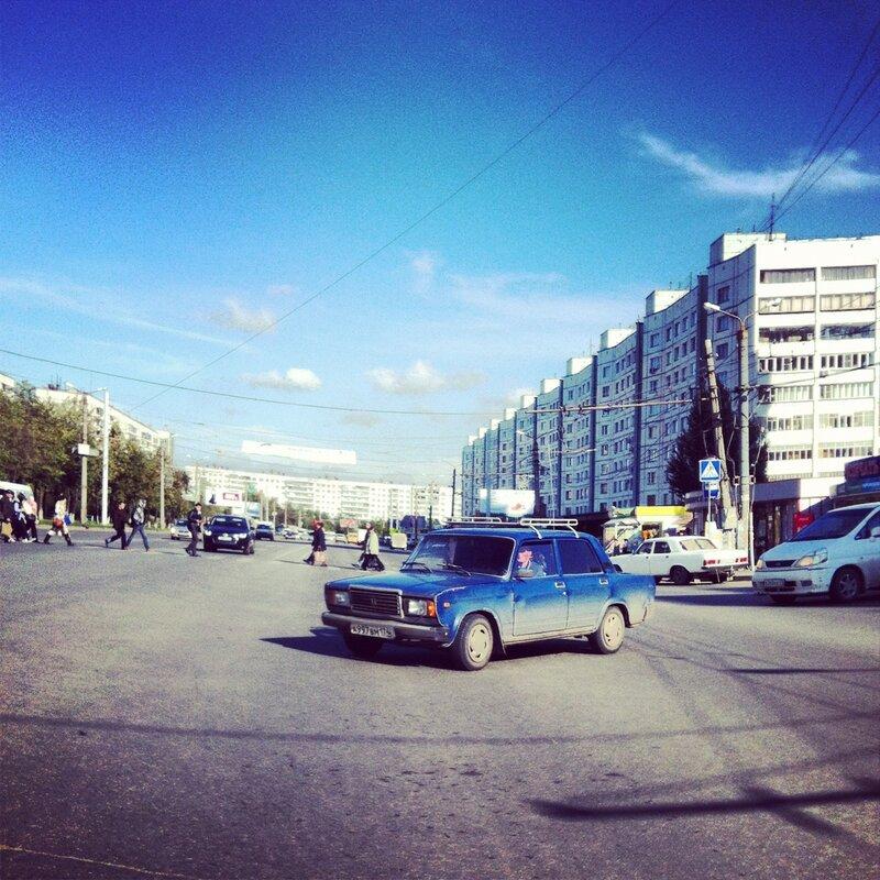 ...снятся людям иногда голубые города...