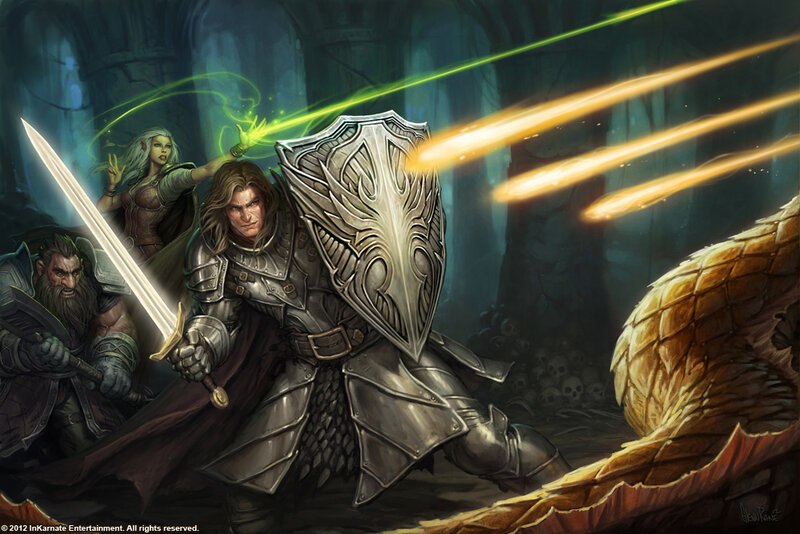 Комплект для ролевых игр InKarnate RPG Toolset Kickstarter Кикстартер