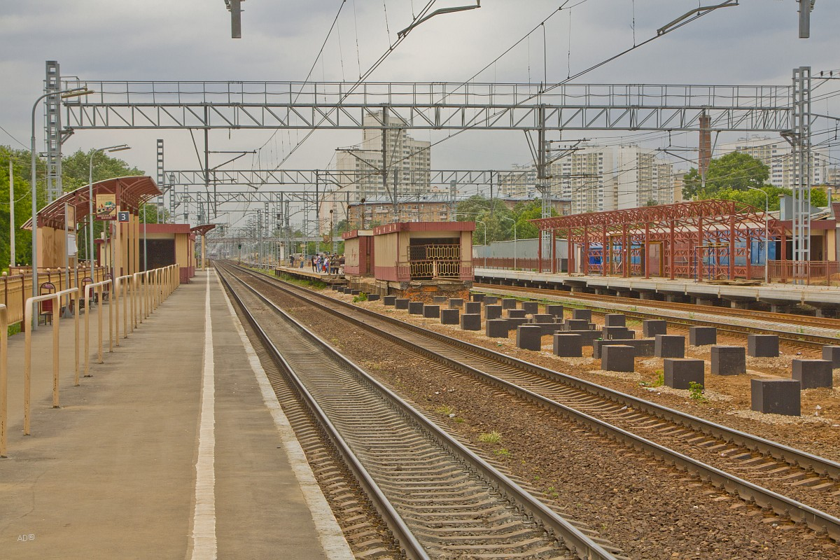 Железнодорожная платформа Останкино