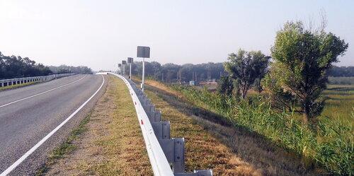 Дорога на Новоминскую, август 2012