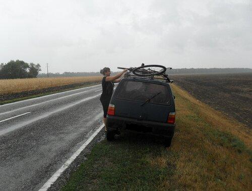 В дороге, Каневской район, 21 августа 2012, 12:23