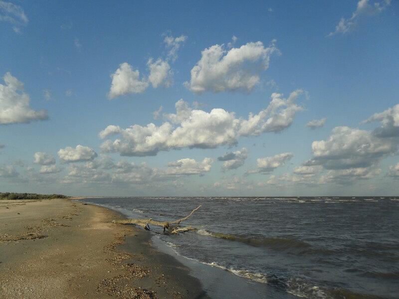 Утренние облака, Ачуевская коса, август 2011