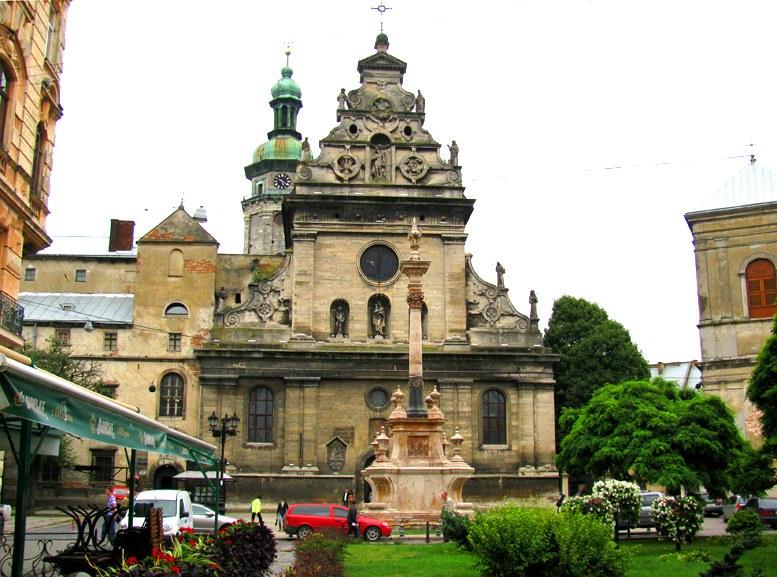 Львов - Храм святого Андрея