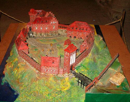 Макет замка Энгелсберг, фото Валерия Смолика, 2012 г.