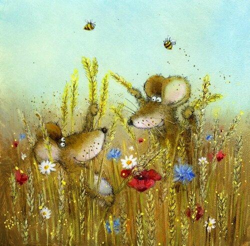 Иллюстрации английского художника-иллюстратора Jan Pashley 41625