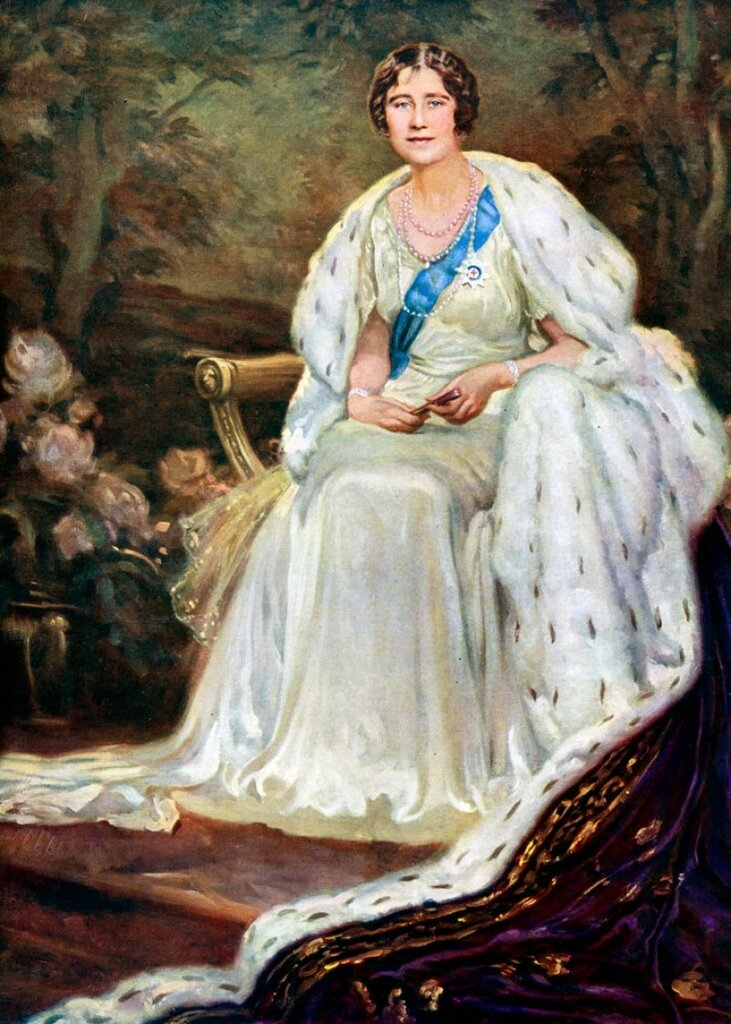 Queen Elizabeth (1900-2002), Queen consort of King George VI  1938-45