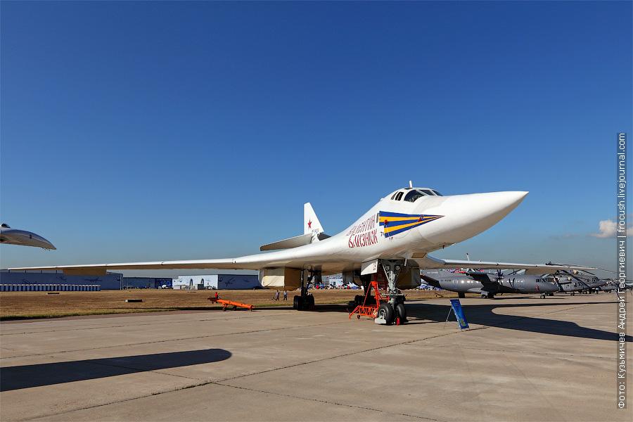 Сверхзвуковой стратегический бомбардировщик-ракетоносец с крылом изменяемой стреловидности Ту-160 «Валентин Близнюк»