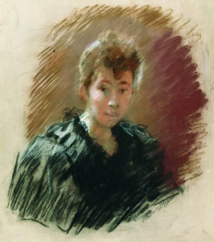 Портрет С. П. Кувшинниковой (1894), Левитан И.И, , Плесский государственный историко-архитектурный и художественный музей-заповедник