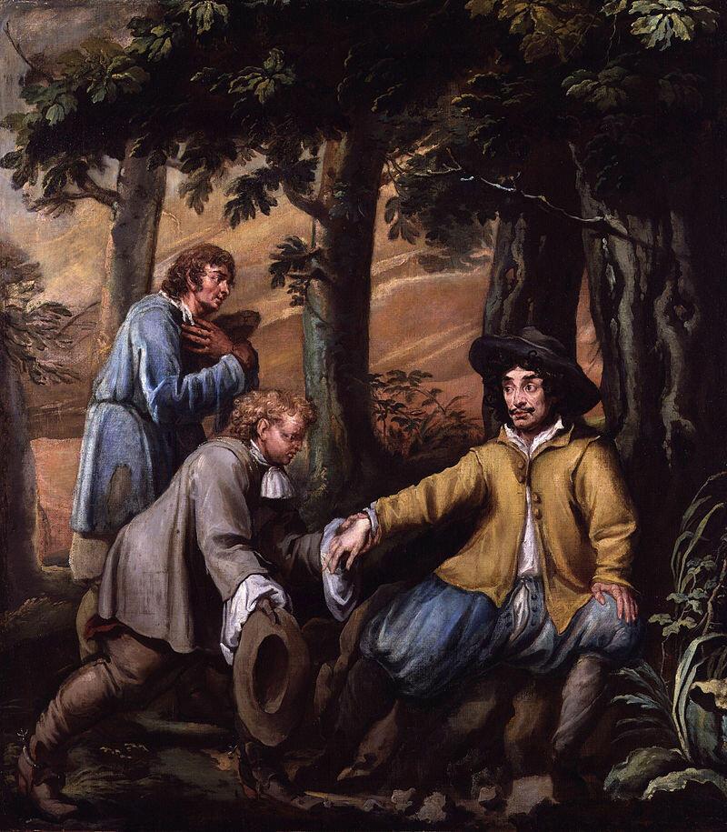 800px-King_Charles_II_in_Boscobel_Wood_by_Isaac_Fuller.jpg