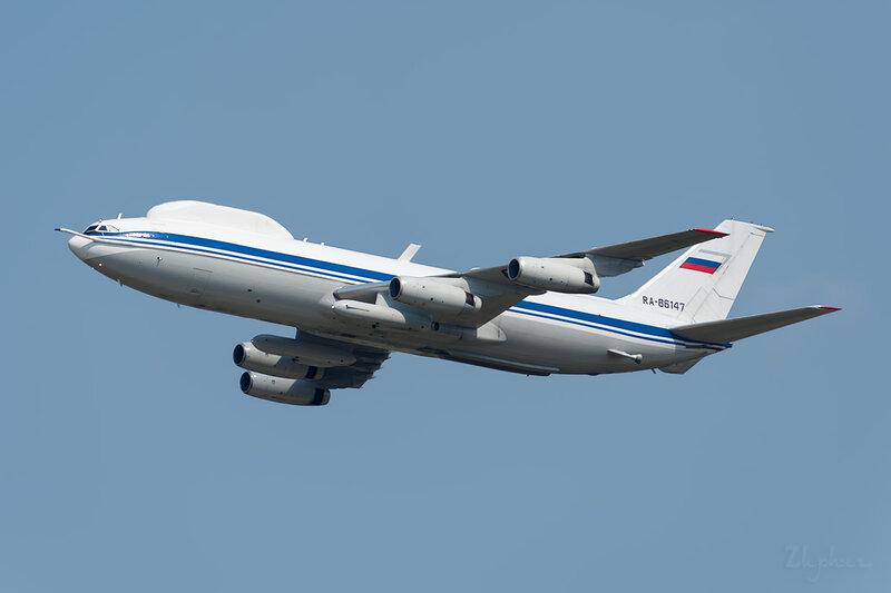 Ильюшин Ил-86ВКП (RA-86147) DSC_3194