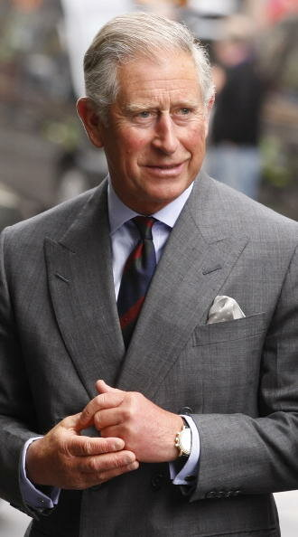 Prince Charles Of Wales Visits Glasgow