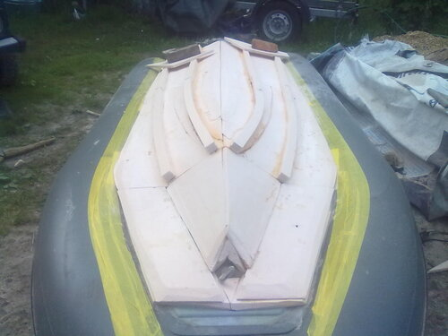 как сделать детскую лодку из пенопласта