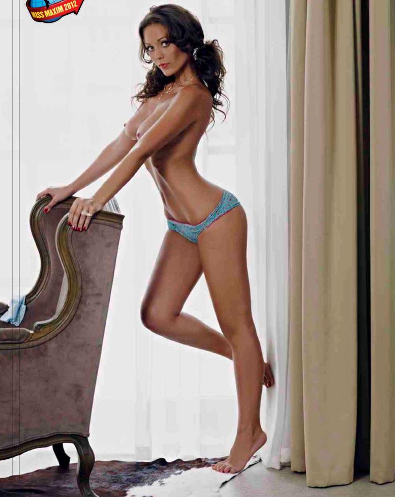 Miss Maxim 2012 Карина Турина в журнале Maxim Россия, сентябрь 2012