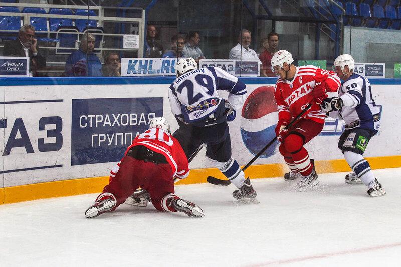 «Спартак» vs «Динамо» 4:2 Кубок губернатора 2012 (Фото)