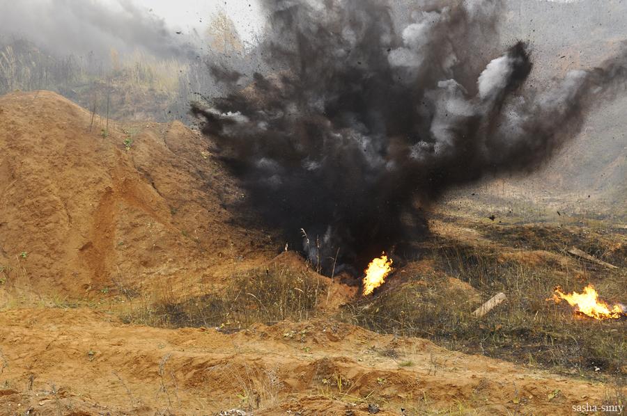 Как делаются киновзрывы
