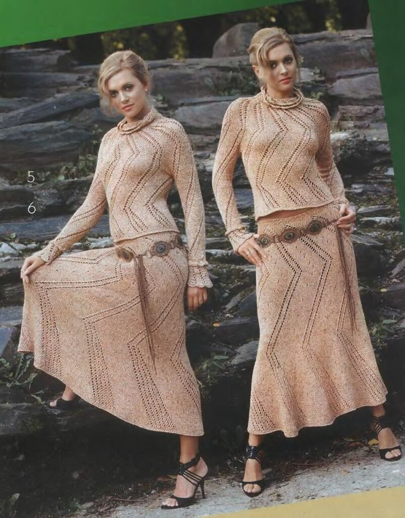Юбки - Вязание крючком и спицами 31