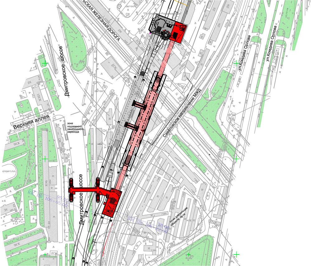 Изображение с сайта «Наш транспорт», схема ОАО «Метрогипротранс»